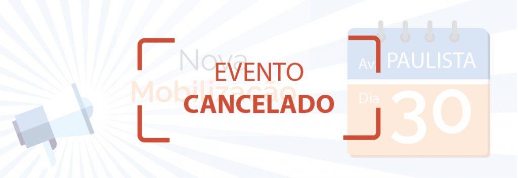 Evento cancelado