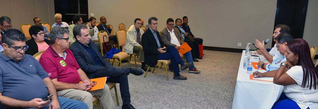Reunião em Brasília sobre reformas e Dia de Paralisação