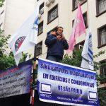 o assessor jurídico do SINDIFÍCIOS, Marcos Machado, falando sobre os absurdos das reformas propostas pelo governo