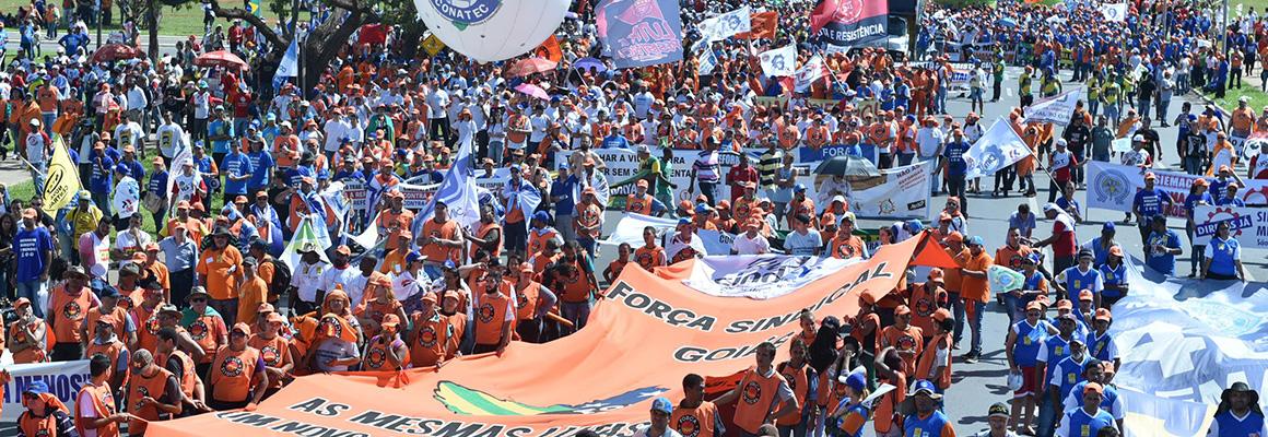 Manifestação em Brasilia 2