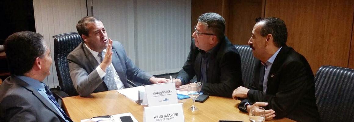 Reunião com o ministro do Trabalho