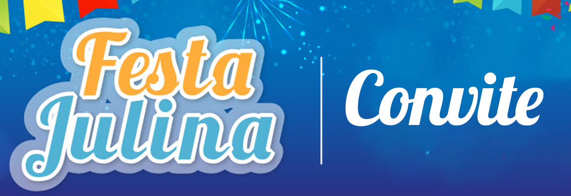 Convite do Amado Batista para a Festa Julina